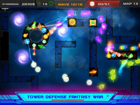 Galaxy Glow Defense screenshot 10