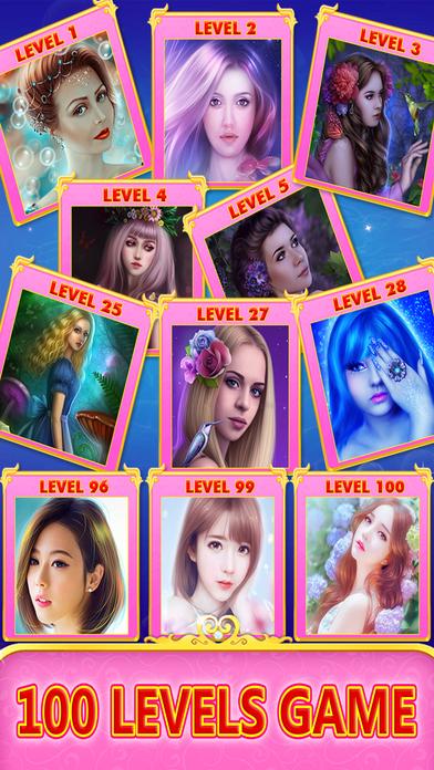 Angel princess puzzle screenshot 2