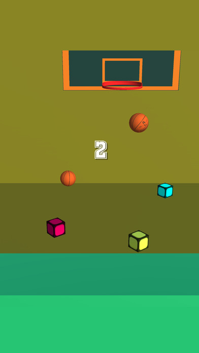 My Mini Pocket Basketball screenshot 2