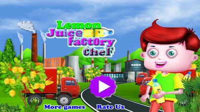 Lemon Juice Factory Chef screenshot 5