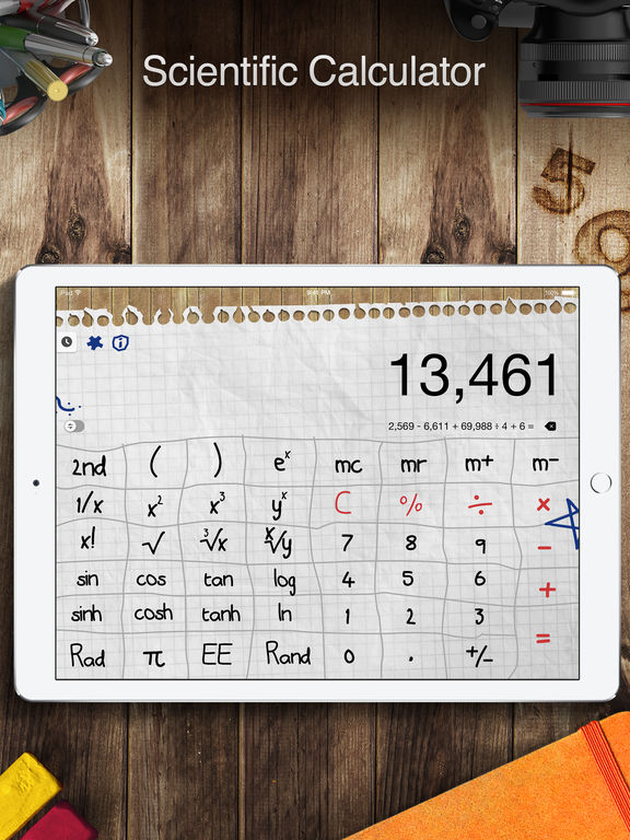 Screenshot #2 for Calculator Pro for iPad - Scientific Calculator