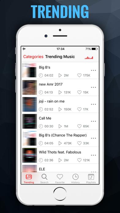 iMusic BG - MP3 Songs Player & Fast Music Streamer Screenshot 4
