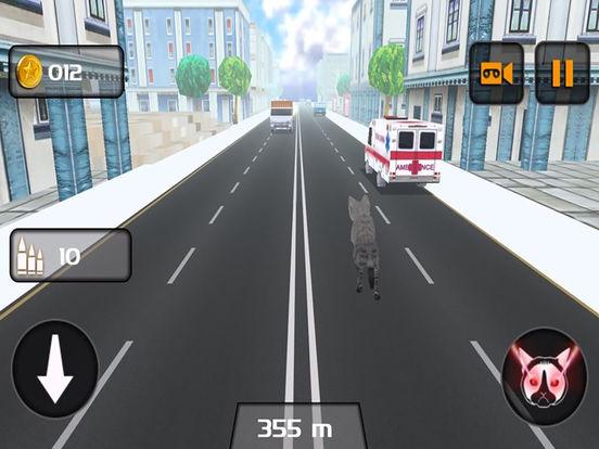 Kitty Cat Rush 3D Game screenshot 10