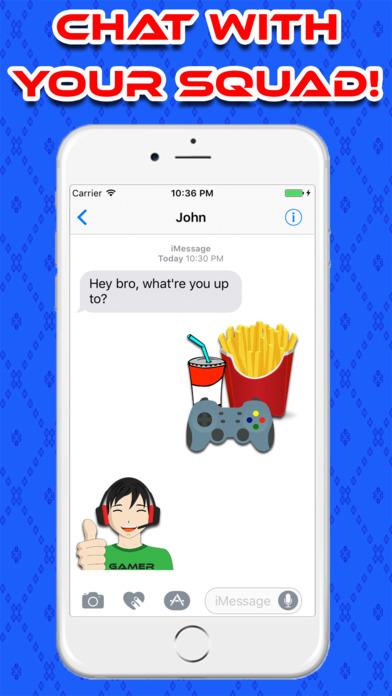 GamerMoji For iMessage Screenshot 2