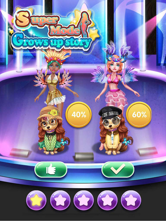 Screenshots of Super Model Grows Up Story - A Way To Be Idol for iPad