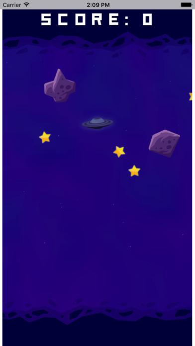 宇宙飞船采集星星 screenshot 3