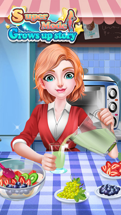 Screenshots of Super Model Grows Up Story - A Way To Be Idol for iPhone