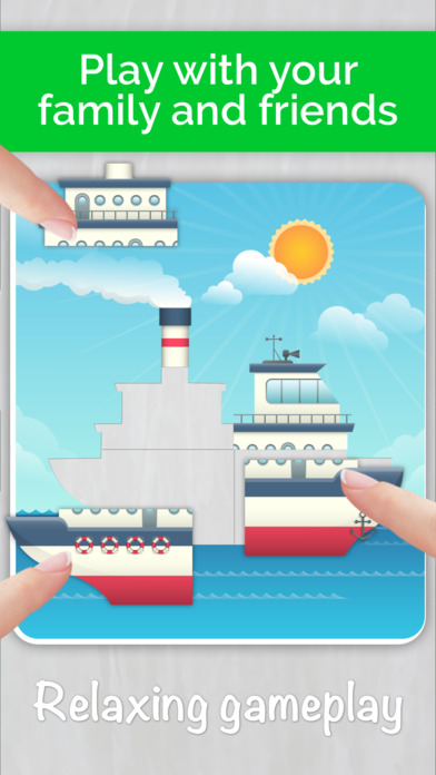 Cars,Planes,Ships! Puzzle Games for Toddlers. AmBa screenshot 3