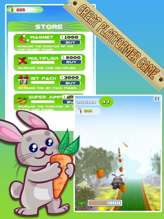 Bunny Jungle Run Adventure screenshot 9