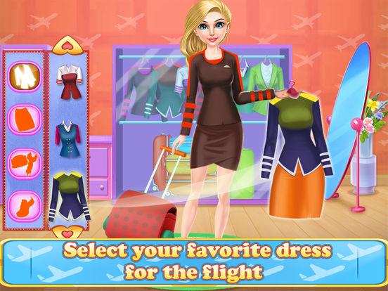 Airhostess Flight journey screenshot 6