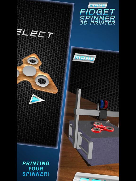 Сделать Ручной Спиннер 3D Принтер Скриншоты4