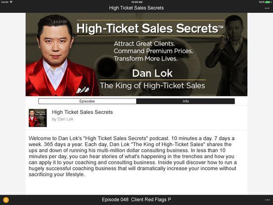 High Ticket Sales Secrets By Spreaker s.r.l.