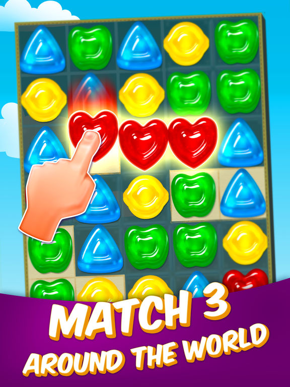 Gummy Drop! – A Match 3 Puzzle Game iPad