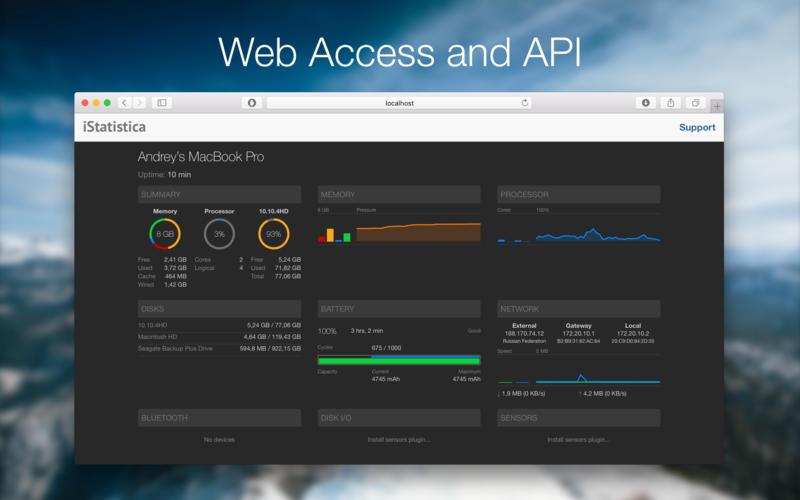 iStatistica for Mac 1.2.2 激活版 – 优秀的系统监控工具-麦氪派(WaitsUn.com | 爱情守望者)
