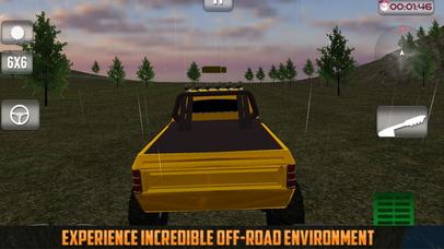 Offroad Truck: Forest Adventure screenshot 1