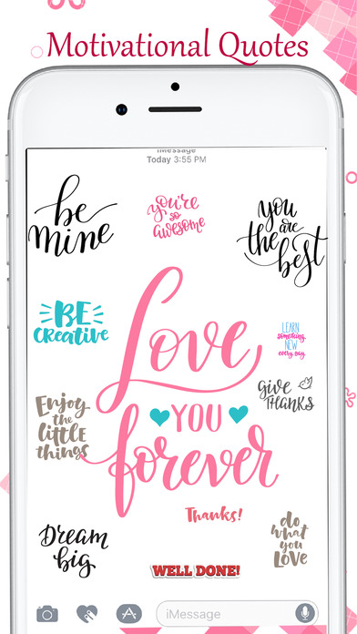 Motivational Love Quote Stickers screenshot 3