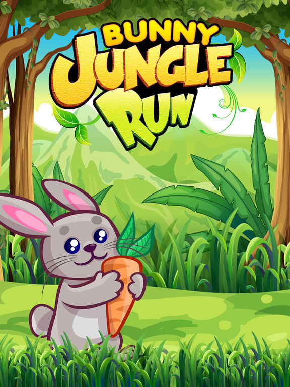 Bunny Jungle Run Adventure screenshot 6