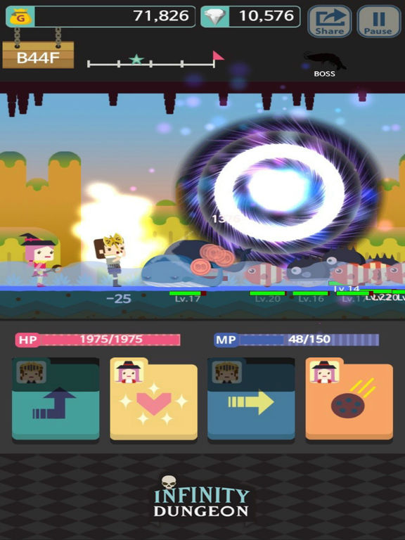 Infinity Dungeon Evolution Скриншоты9