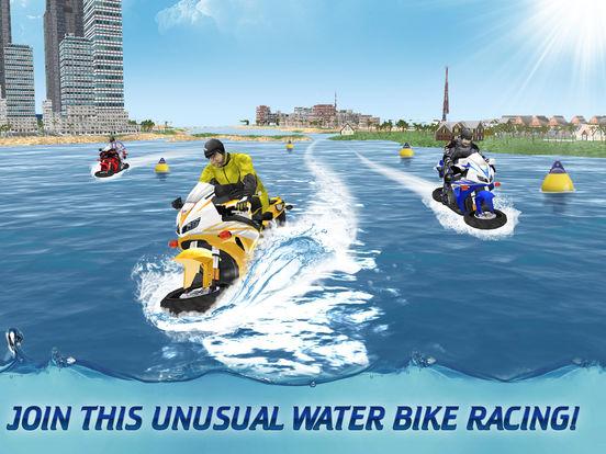 Surfing Bike Water Wave Racing screenshot 5
