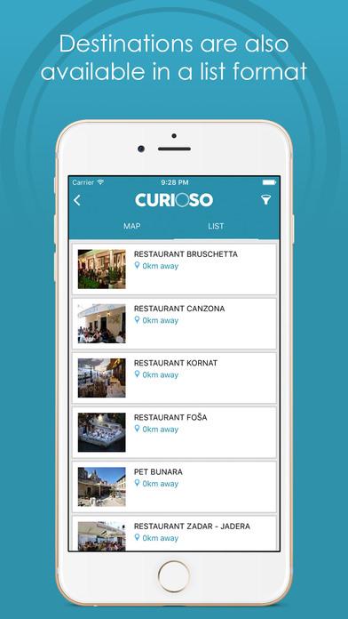 Curioso - Discover Zadar screenshot 3