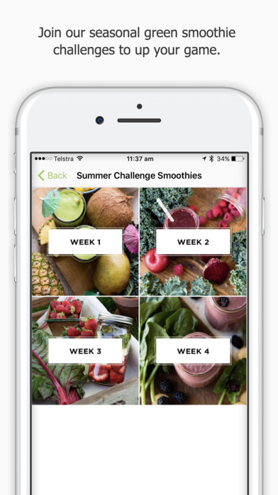 Daily Blends: Simple Green Smoothies screenshot 5