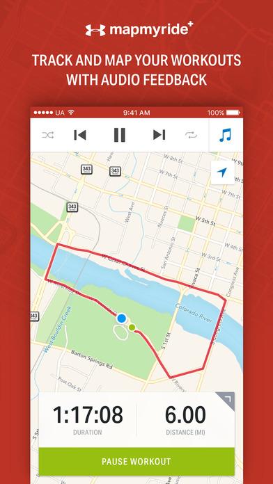 Map My Ride+ - GPS Cycling & Route Tracker Screenshots