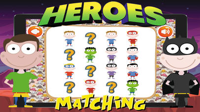Super Heroes Card Matching screenshot 5