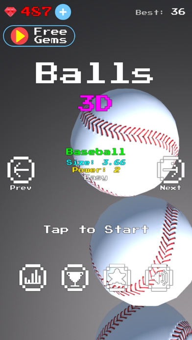 Balls 3D Screenshot