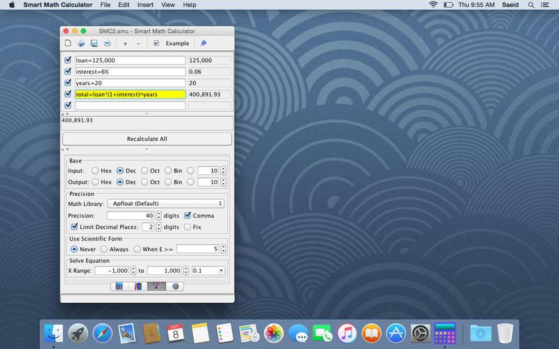 Smart Math Calculator for Mac
