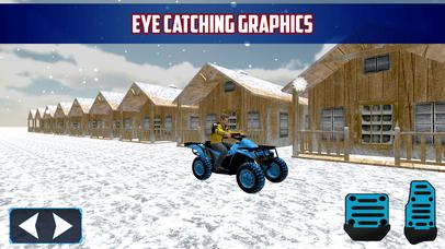 Snow Bike Parking 3D Extreme Mountain Simulator screenshot