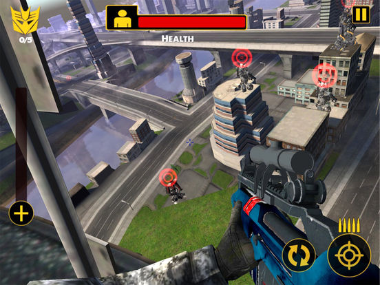 US Army Sniper Robots Futuristic Battle screenshot 10