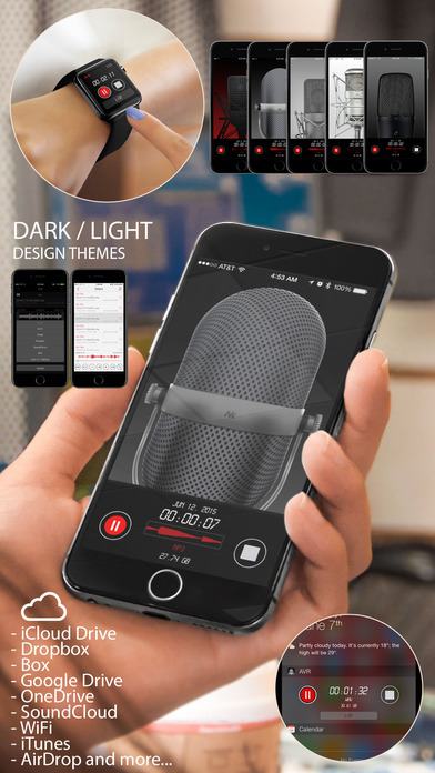 Awesome Voice Recorder Pro - Mp3 Audio Recording Screenshots