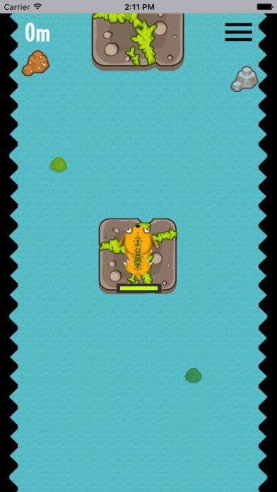 荷叶上跳跃-酷跑小游戏 screenshot 1