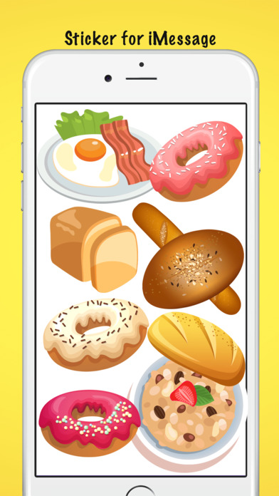 Breakfast Meal Stickers screenshot 3