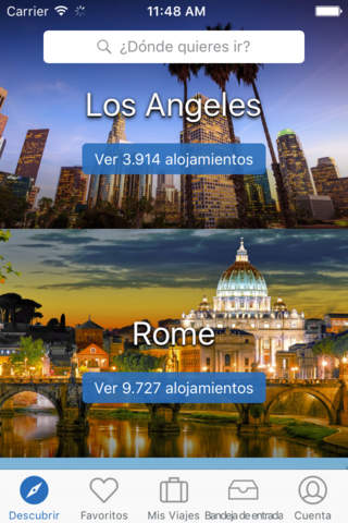 HomeAway Vacation Rentals screenshot 1
