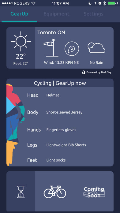 GearUp Screenshots