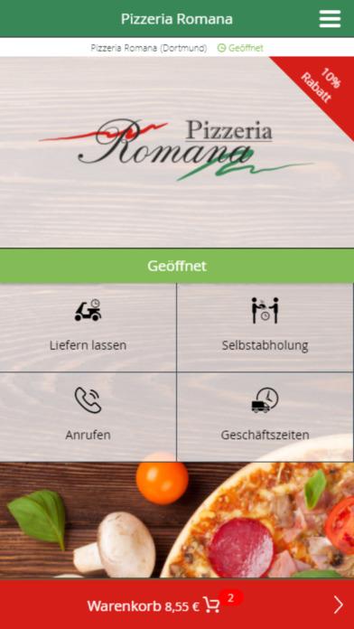 market analysis of romans pizza