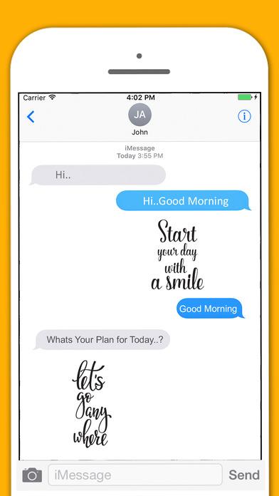 Positive Life - Affirmative Sticker Pack screenshot 4