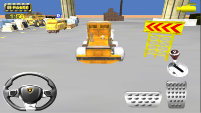 Heavy Crane Parking Simulator screenshot 2