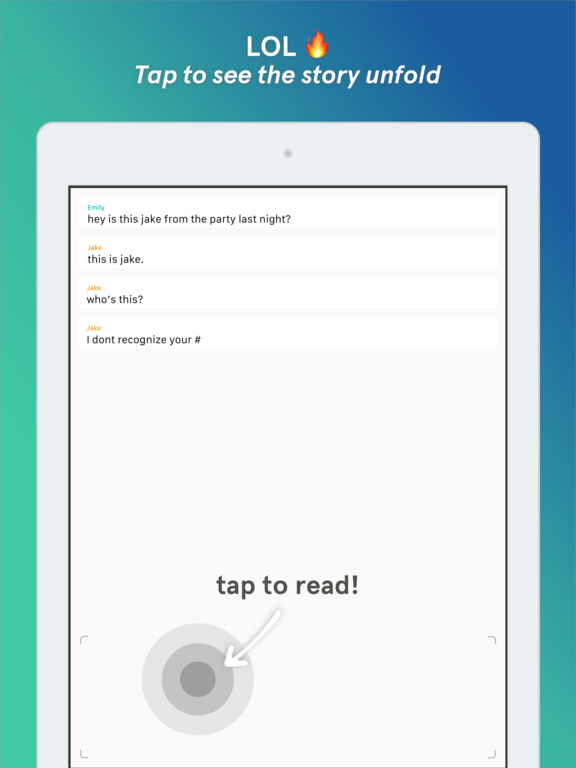 Tap - Chat Stories by Wattpad screenshot