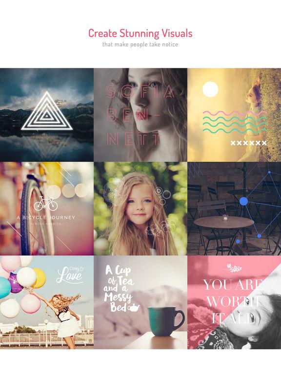 MocaDeco - Photo Editor & Visual Creator Screenshots