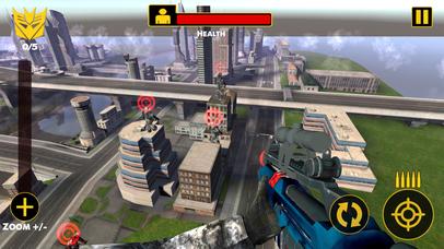 US Army Sniper Robots Futuristic Battle screenshot 1