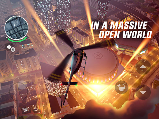 Gangstar New Orleans: Action Open World Game iPad