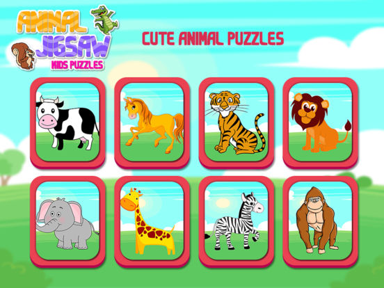 Animal Jigsaw Kids Puzzle Pro screenshot 7