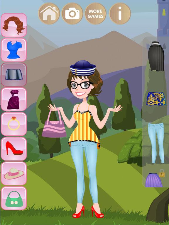 Одевалки - Игры для девочек детей и малышей Скриншоты5