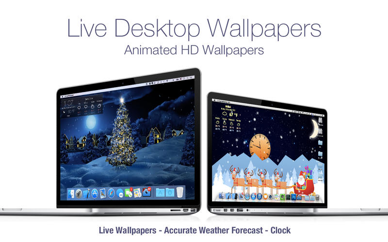 Screenshot #3 for Live Wallpaper HD+: desktop weather & screensaver