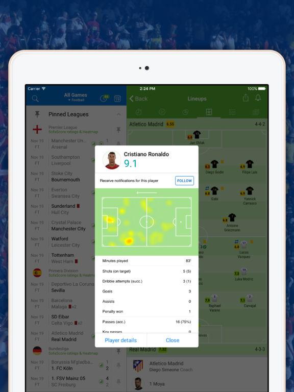 SofaScore Live Sports: Scores, VIDEO & Stats screenshot