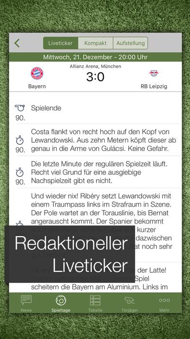 Pocket Liga 2010/11 iPhone Screenshot 2