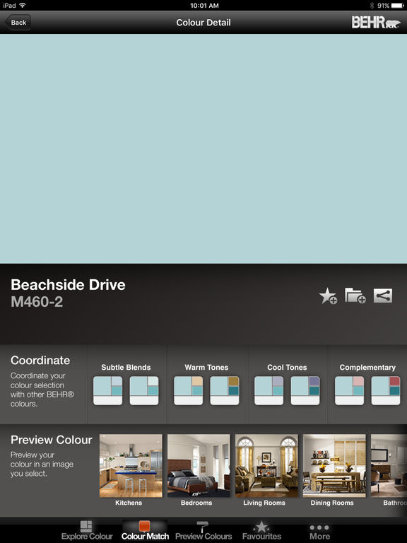 Coloursmart by behr mobile canada on the app store