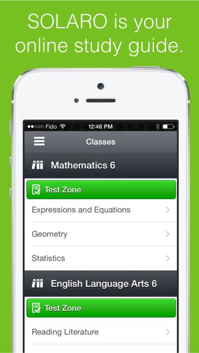 SOLARO — Improve Your Grades Screenshot